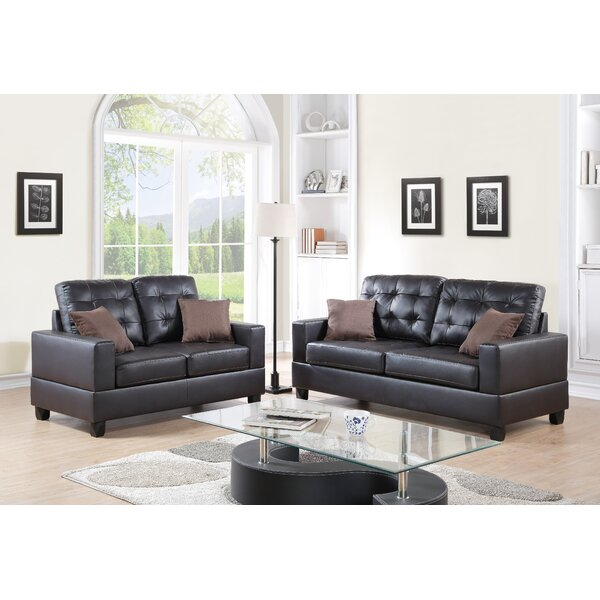 Maria 2 Piece Living Room Set by A&J Homes Studio