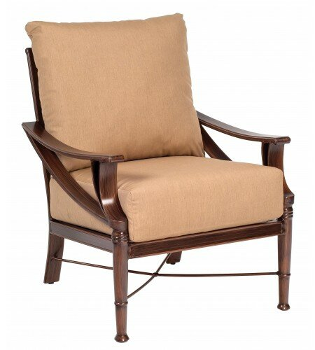 Arkadia Stationary Patio Chair by Woodard