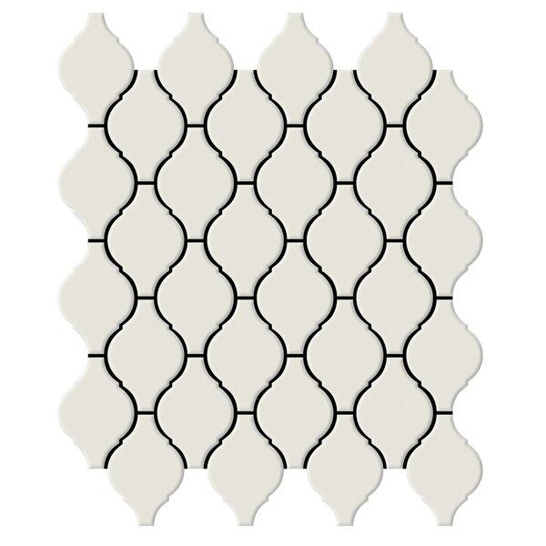 Shape 2 x 2 Porcelain Mosaic Tile in Bone by Emser Tile