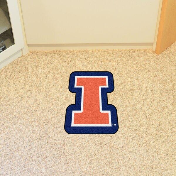NCAA University of Illinois Mascot Mat by FANMATS