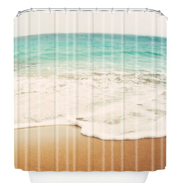 Bree Madden Ombre Beach Shower Curtain by East Urban Home