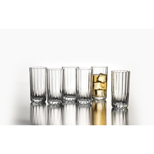 Chrissa 10 oz. Glass Tumbler (Set of 6) by Design Guild