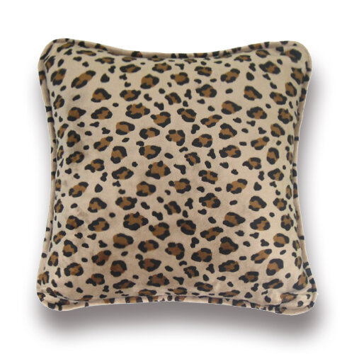 Zoomie Kids Greeson Leopard Throw Pillow Wayfair