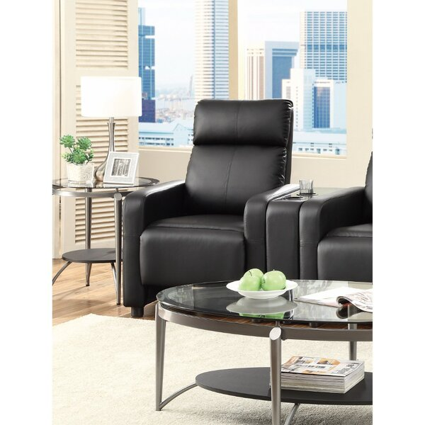 Griesinger Theater Seating Push Back Manual Recliner by Orren Ellis