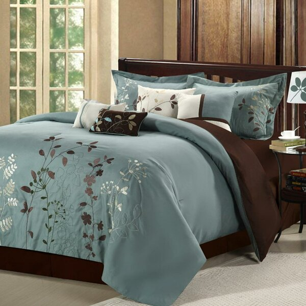 Lovejoy 8 Piece Comforter Set by Red Barrel Studio