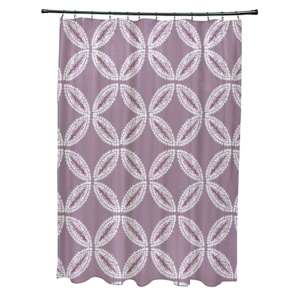 Viet Tidepool Shower Curtain by Bloomsbury Market