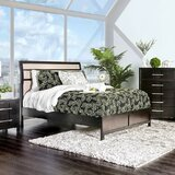 Midwest Upholstered Sleigh Bed byIvy Bronx