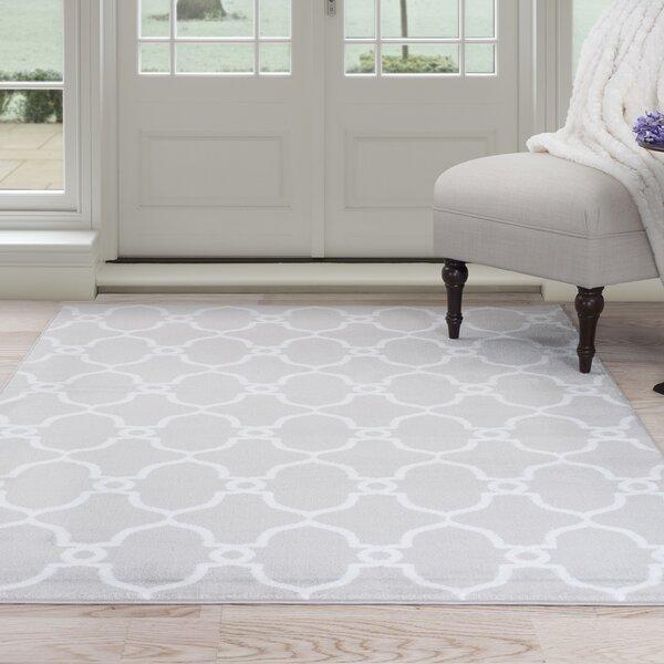 Lattice Gray Area Rug by Lavish Home
