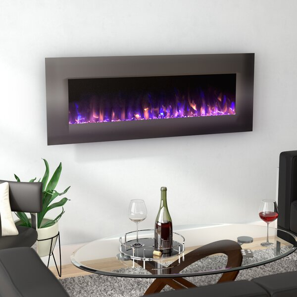 Quevedo No Heat Wall Mounted Electric Fireplace by Orren Ellis