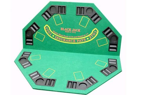 2 in 1 Poker Table Cover by JP Commerce