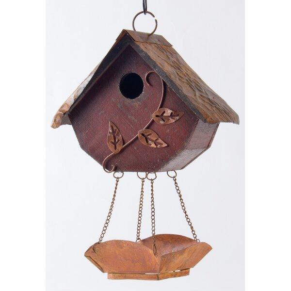 Hanging 12.91 in x 9.17 in x 4.76 in Birdhouse by Glitzhome