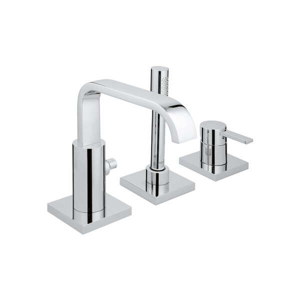 Allure Single Handle Deck Mounted Roman Tub Faucet Trim with Diverter and Handshower by GROHE GROHE