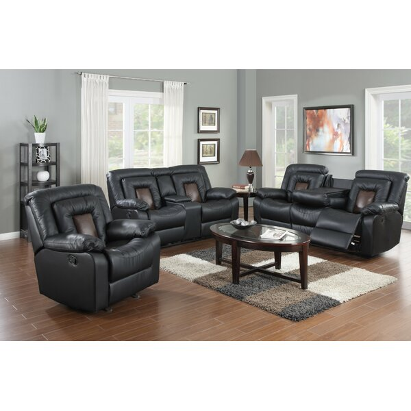 Best #1 Pals 3 Piece Reclining Living Room Set By Red Barrel Studio Modern