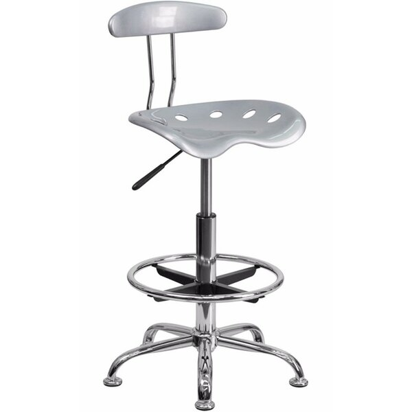 Risch Drafting Stool with Tractor Seat