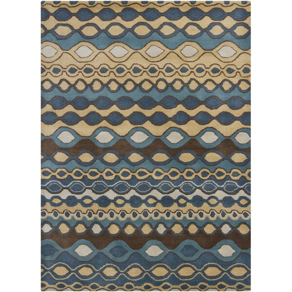 Carol Blue Area Rug by Corrigan Studio