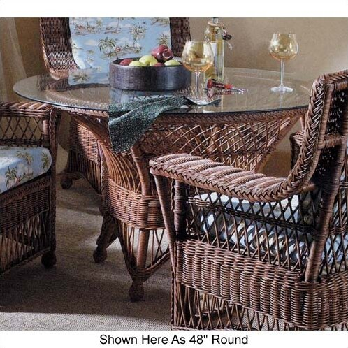 Yogyakarta  Dining Table by South Sea Rattan