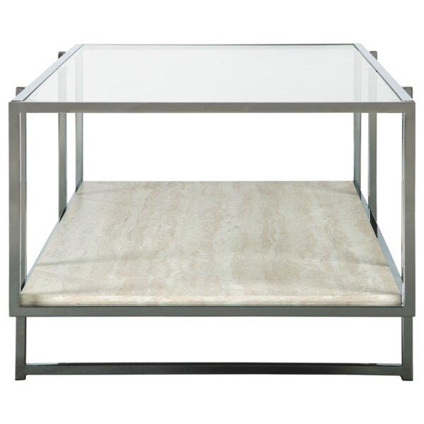 Hyattsville Floor Shelf Coffee Table With Storage By Ebern Designs