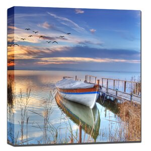 All Weather 'Tucked In' Photographic Print on Wrapped Canvas by West of the Wind Outdoor Canvas Art