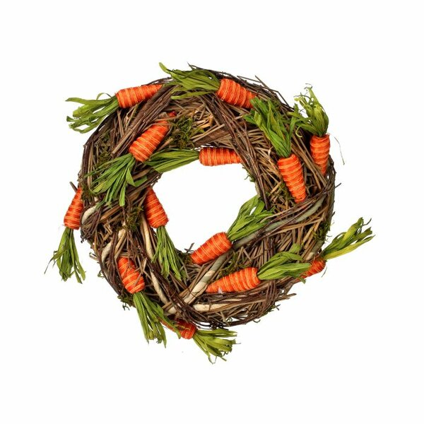 Twine Carrot 15 Grass Wreath by The Holiday Aisle