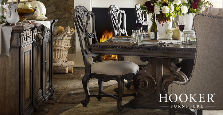 Hooker Furniture. Categories. Dining RoomBedroomOffice