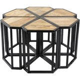 Ahnalee Frame 6 Nesting Tables (Set of 6) by Latitude Run