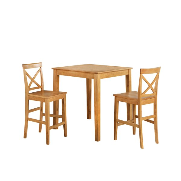 Youngstown 3 Piece Counter Height Dining Set by TTP Furnish
