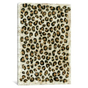 Animal Print Series 'Leopard' Graphic Art Print on Canvas by East Urban Home
