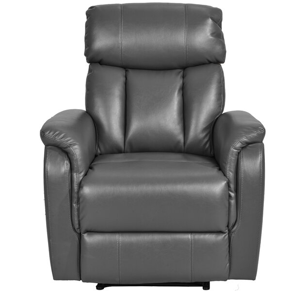 Lindcove Faux Leather Power Lift Assist Recliner W003245900