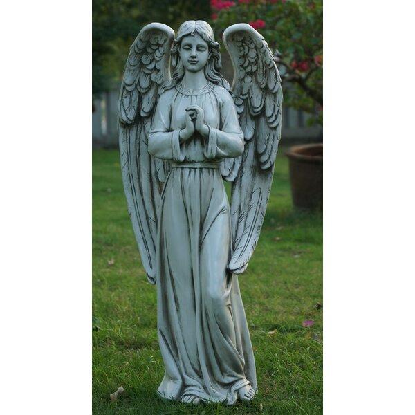 Hi Line Gift Ltd Standing Angel Statue Amp Reviews Wayfair