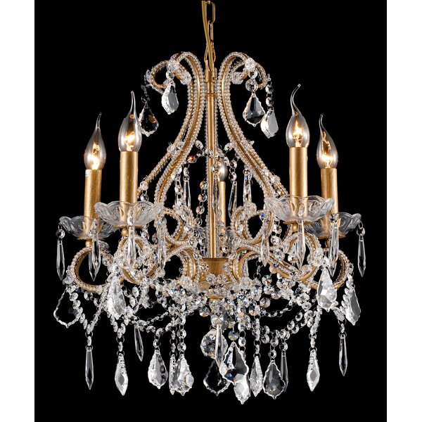 Gluck 5-Light Candle Style Empire Chandelier By Astoria Grand