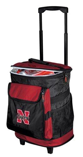 Collegiate Rolling Cooler - Nebraska by Logo Brands