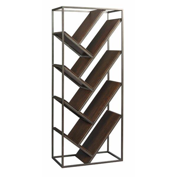 Emrich Chevron Geometric Bookcase By Union Rustic