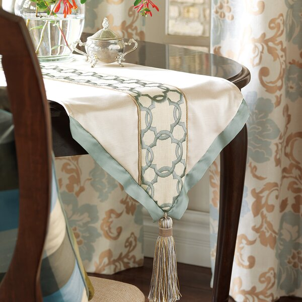 Kinsey Verlaine Insert Table Runner by Eastern Accents
