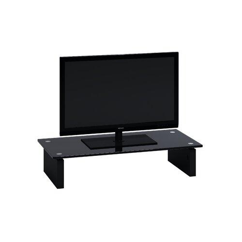 TV-Aufsatz Adina Jahnke Größe: 12 cm H x 57|3 cm B x 28 cm T| Farbe: Schwarz | Wohnzimmer > TV-HiFi-Möbel > TV-Halterungen | Jahnke