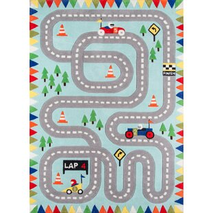 Famous Kids' Cars, Trucks & Trains Rugs You'll Love | Wayfair IQ67