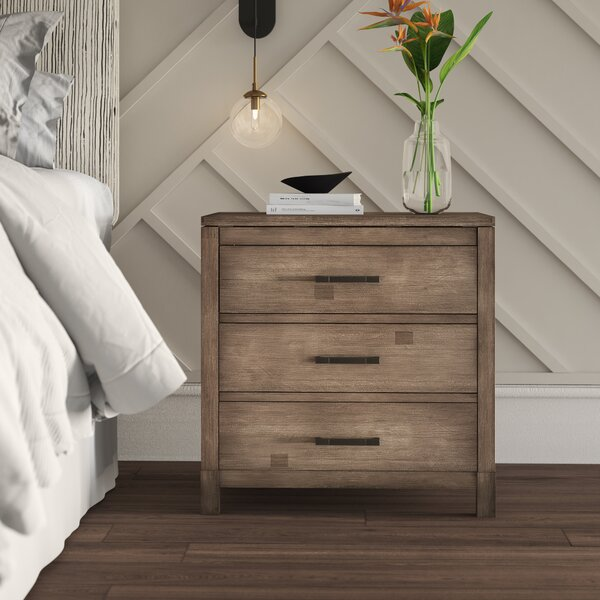 Seleukos 2 Drawer Nightstand By Mercury Row by Mercury Row Comparison