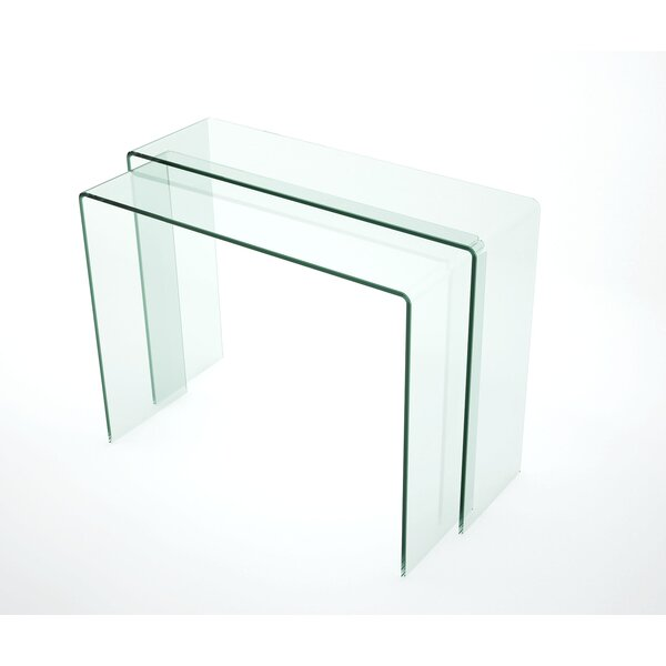 Lukka Console Table By Orren Ellis