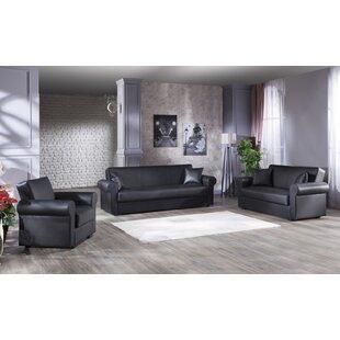 McLellen 2 Piece Sleeper Living Room Set by Red Barrel Studio®