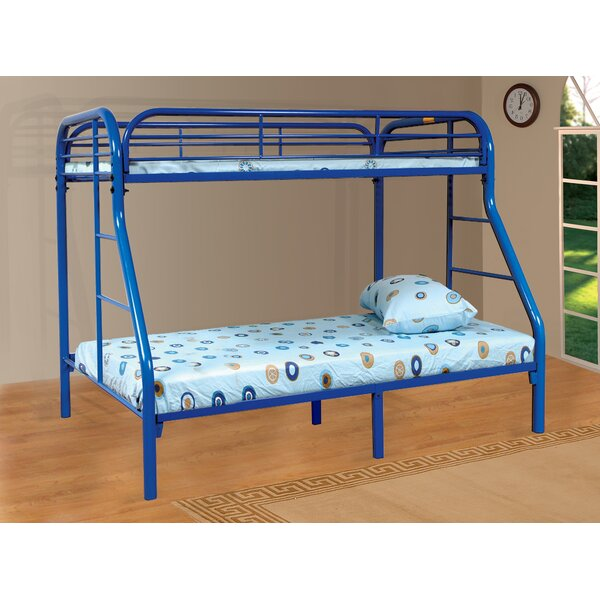 Tanya Twin over Full Bunk Bed by Zoomie Kids