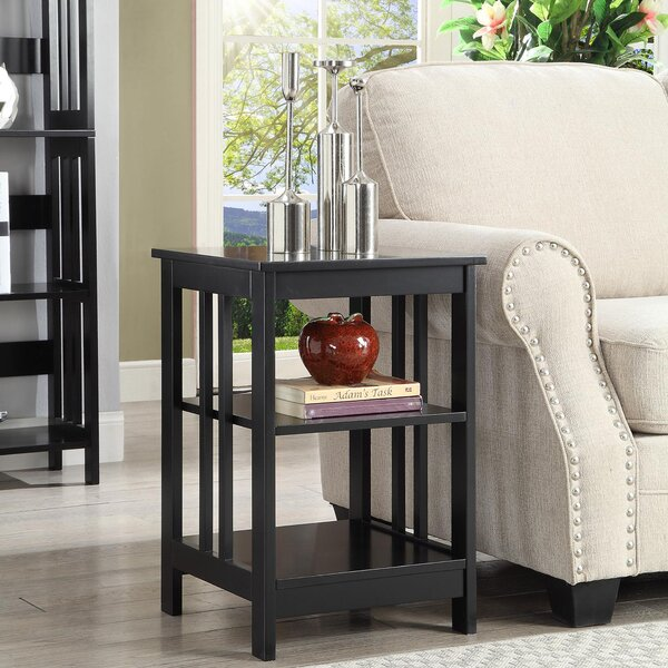 Minerva End Table with Storage by Andover Mills Andover Mills