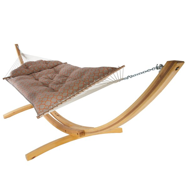 Lackey Large Tufted Sunbrella Hammock by Latitude Run