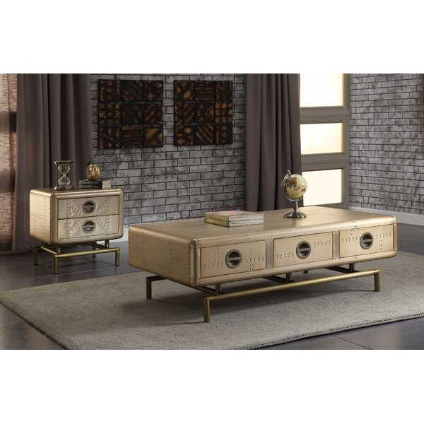 Caceres 2 Piece Coffee Table Set by Breakwater Bay Breakwater Bay