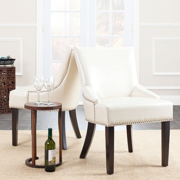 York Bycast Leather Upholstered Dining Chair (Set of 2) by Darby Home Co