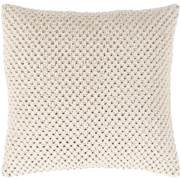 Sherlene Natural Cotton Throw Pillow by Gracie Oaks
