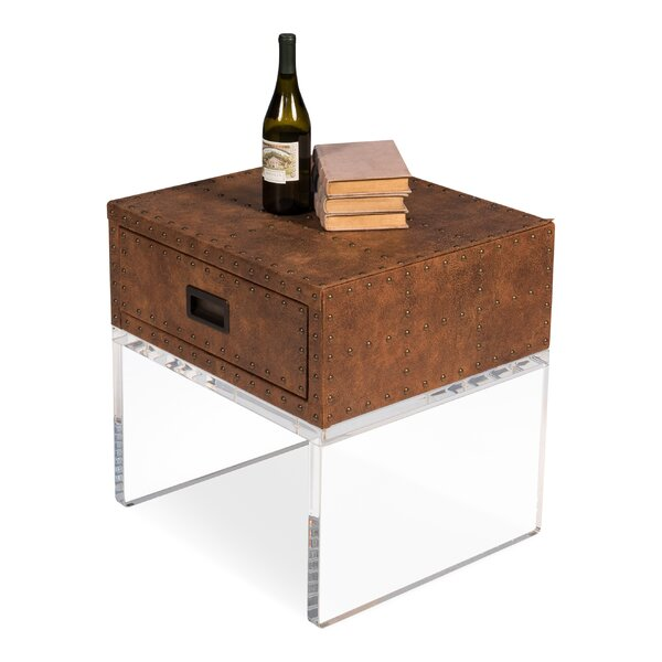 Marrero End Table with Storage by 17 Stories