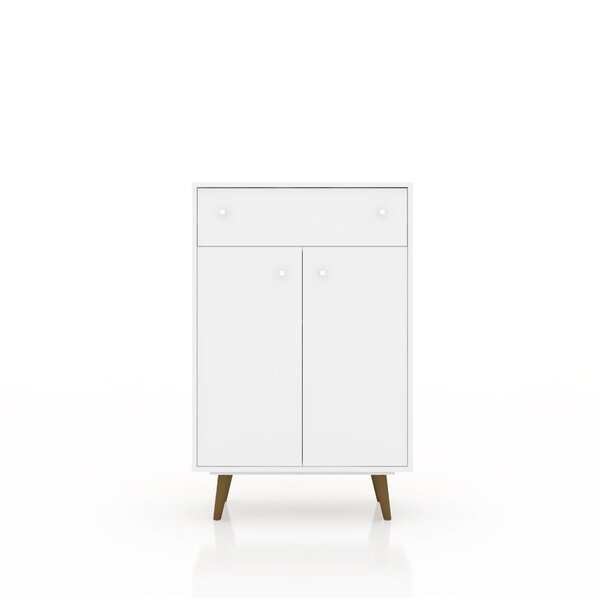 Jabari 1 Drawer Accent Cabinet by George Oliver