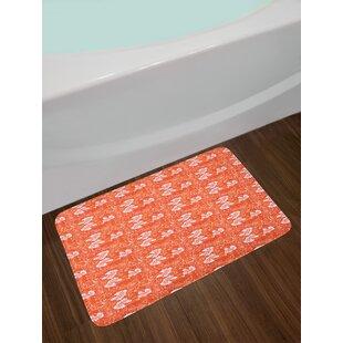 Burnt Orange Bath Rug