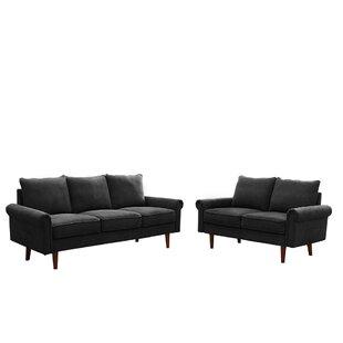 Fillender 2 Piece Living Room Set by Red Barrel Studio®