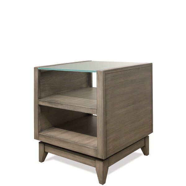 Northampton End Table With Storage By Three Posts