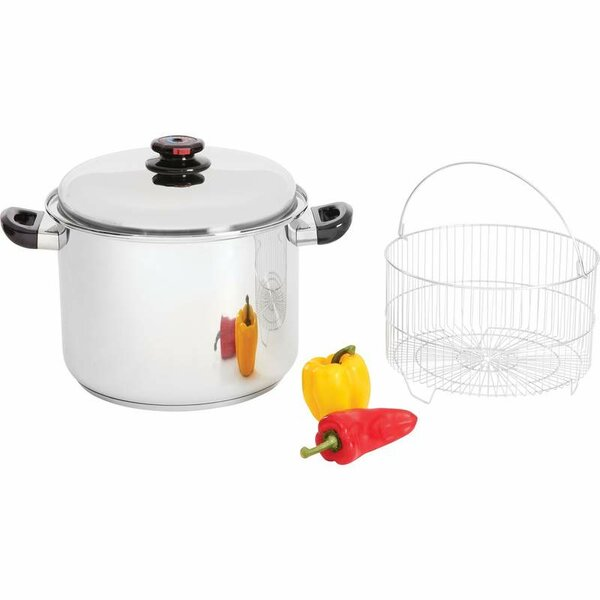 HealthSmart 16 Quart Stock Pot with Lid by Chef's Secret